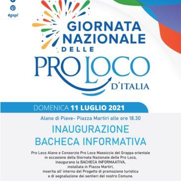 11 luglio – Giornata nazionale delle ProLoco